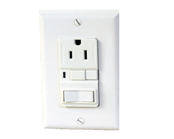 Gfi receptacle w toggle switch switches receptacles gfi receptacle w toggle switch publicscrutiny Images