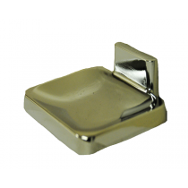 CHROME -PLATED SOAP DISH C4104