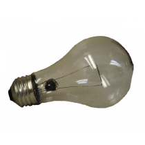 CLEAR BULB , INCANDESCENT