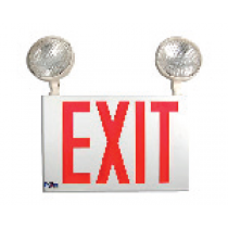 DOUBLE EXIT SIGN FIXTURE