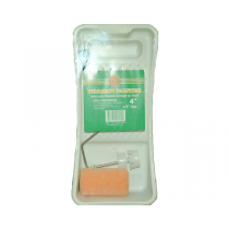 4 Inch Roller Paint Tray Kit