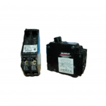 Twin Miniature Circuit Breaker, 120/240 VAC, 1 P, 10 kA Type MH-T