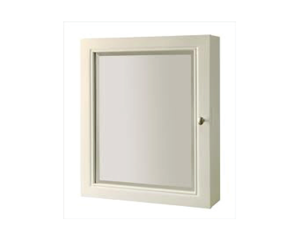 More Views. YORK WHITE SURFACE/RECESSED MOUNTED MEDICINE CABINET