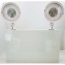 2-HEAD EMERGENCY EXIT LIGHT UNIT