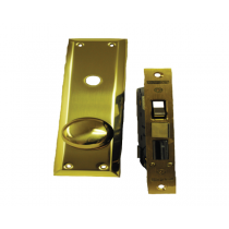 114A/3 MARKS METRO APARTMENT HD ENTRY MORTISE LOCKSET MARKS WITH ATTACHED KNOB