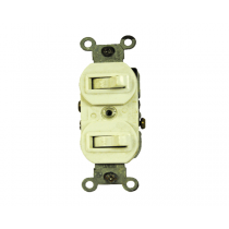 COMBINATION DEVICE DOUBLE TOGGLE SWITCH