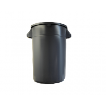 GARBAGE CAN , GRAY