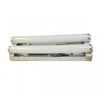 TWO BULB RAPID START FLUORESCENT FIXTURE