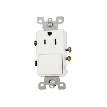 5625 COMBINATION DEVICE  TOGGLE SWITCH & RECEPETACLE