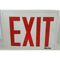 "8"" NYC APPROVED LED EMERGENCY EXIT SIGN"