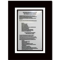 Rights and responsibilities guide for tenants and owners.